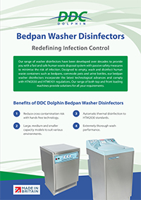Bedpan-Washer-Disinfector