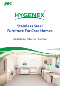 Hygenex Stainless Steel Furniture For Care Homes Front Cover