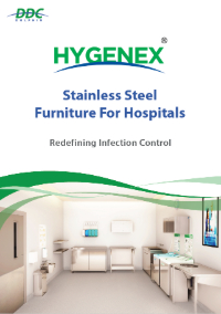 Hygenex Stainless Steel Furniture For Hospitals Front Cover