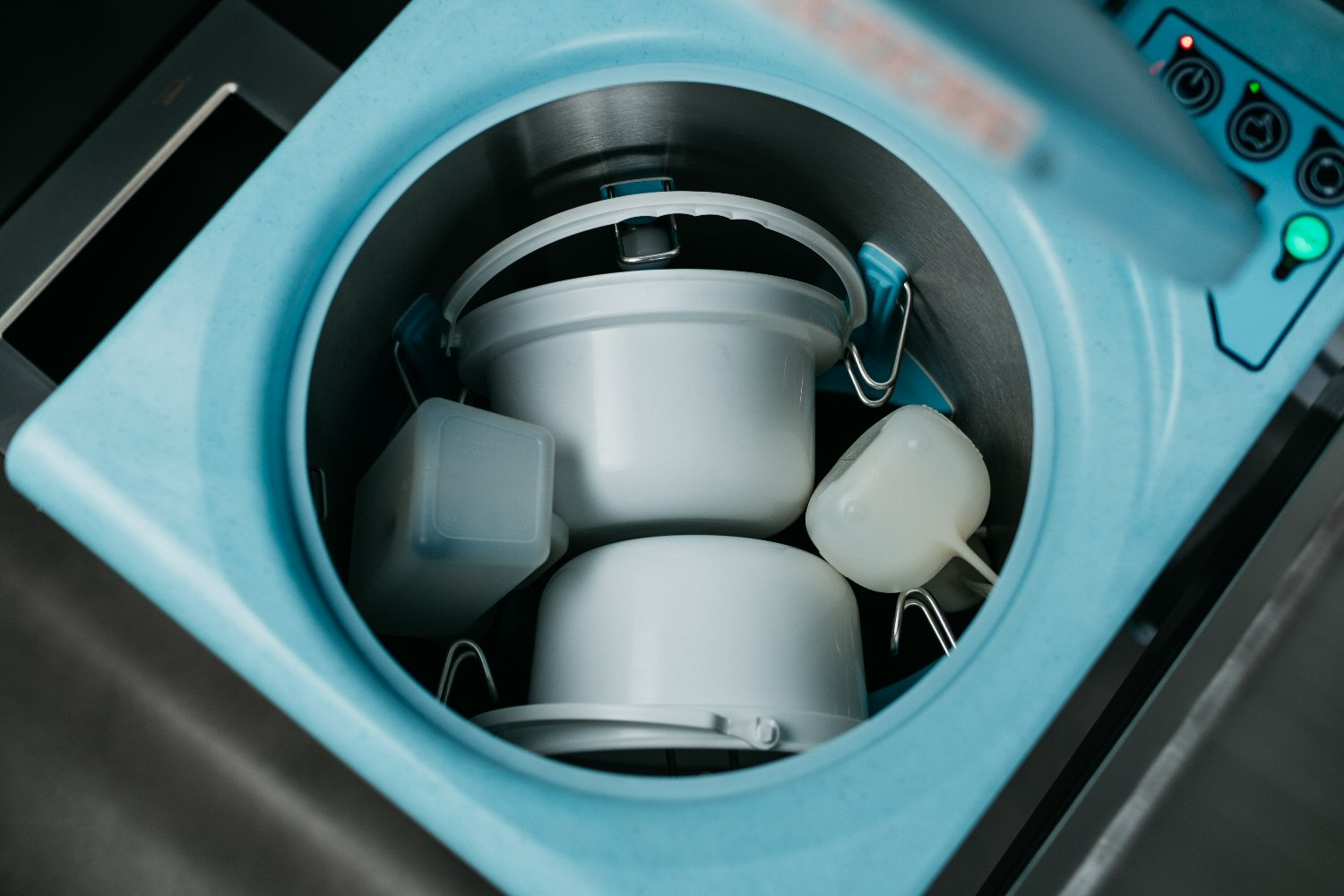Commode Cleaner Loaded With Commodes