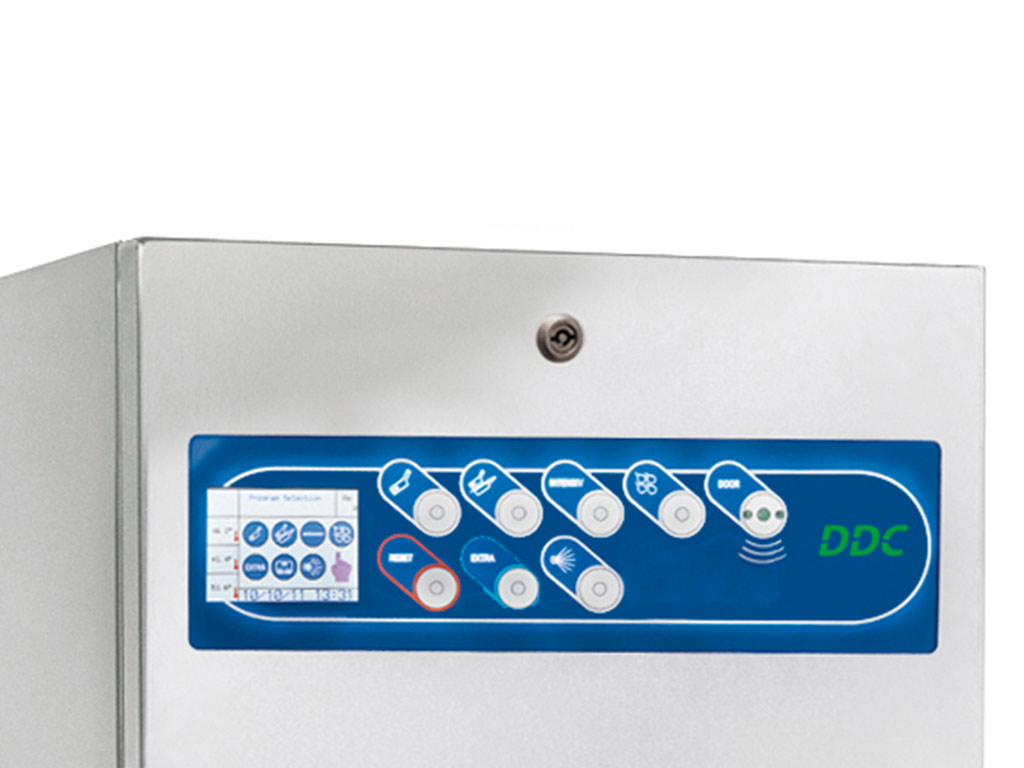 DDC Dolphin Panamatic XLC Bedpan Washer Disinfector Control Panel