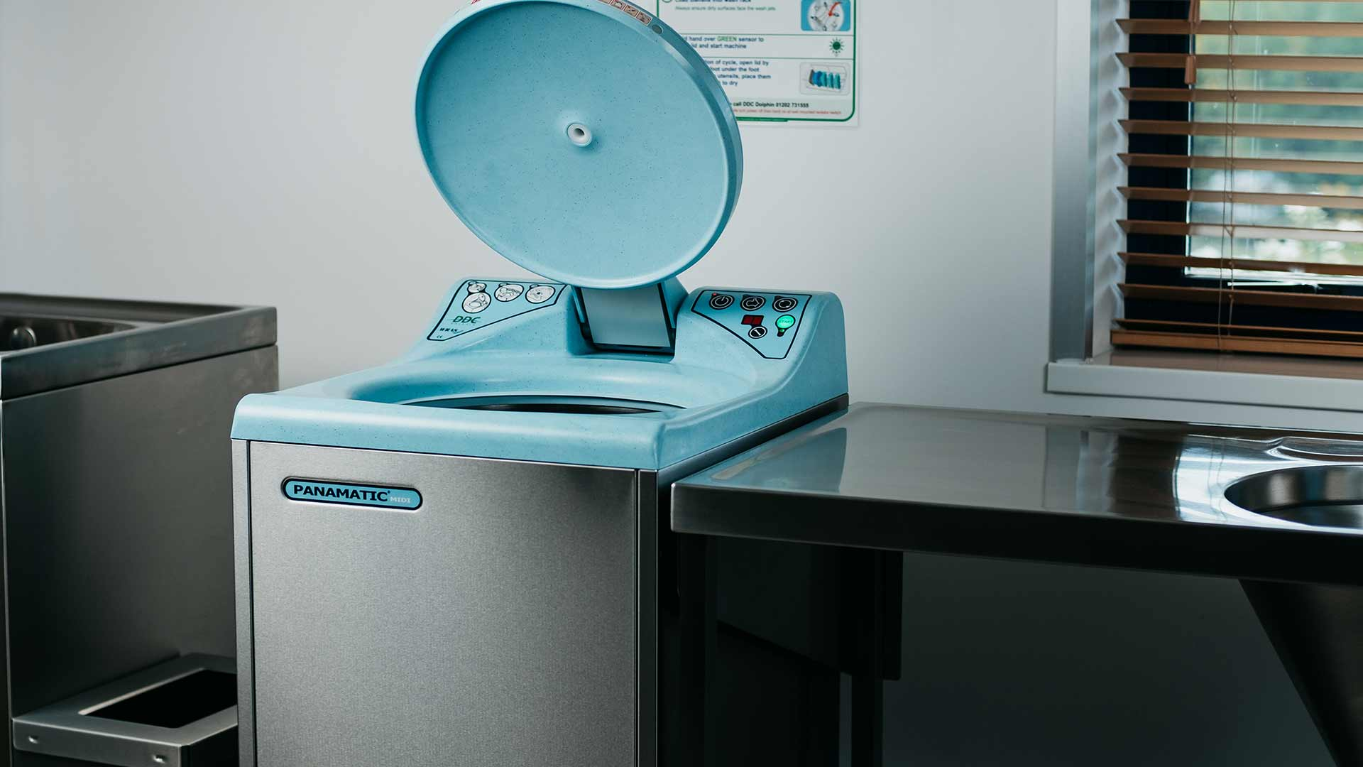 Panamatic Midi Bedpan Washer Banner