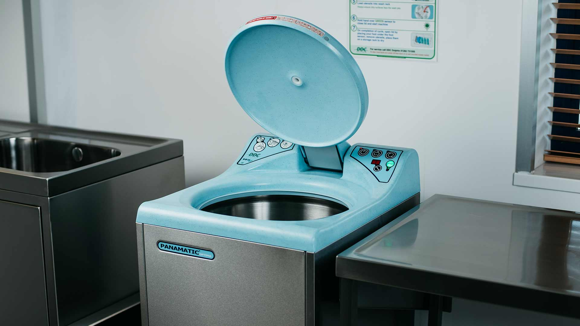 Panamatic Optima 2 Bedpan Washer Banner