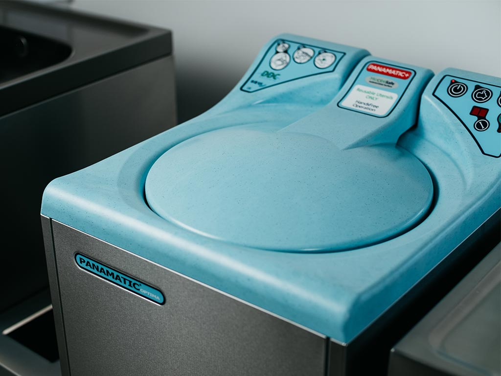 DDC Dolphin Panamatic Optima 2 Bedpan Washer Disinfector Front